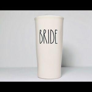 """Rae Dunn """"BRIDE"""" travel tumbler"""